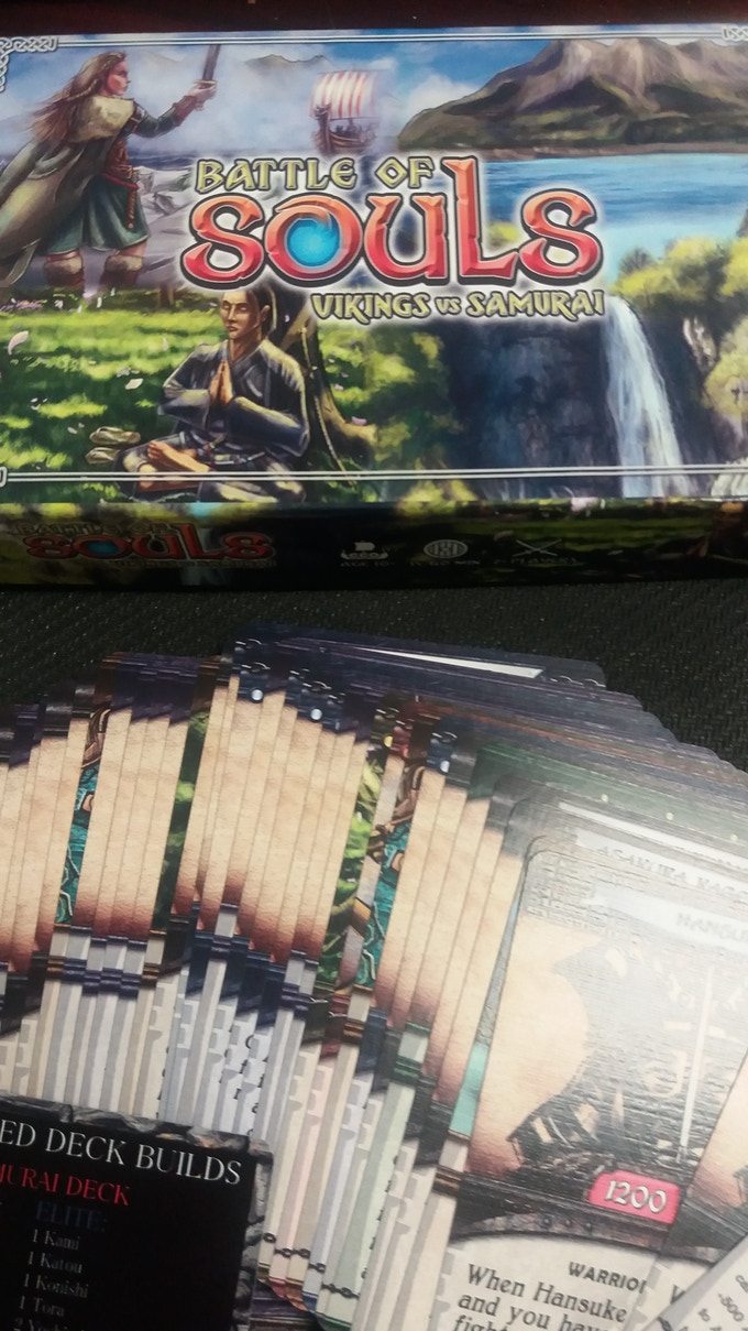 #soulsbattle open box (samurai)