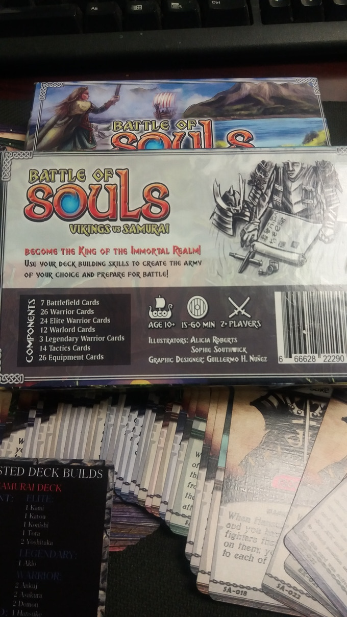 #soulsbattle Battle of Souls Open box