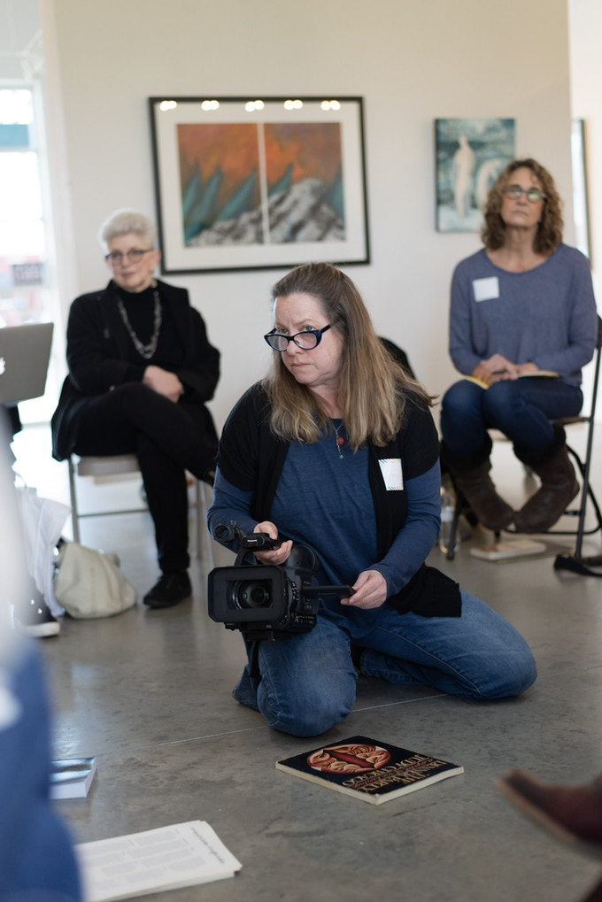 Filmmaker LeeAnn Kornegay has been working on a long-format film, The Making of the Supper Table, since January 2019.