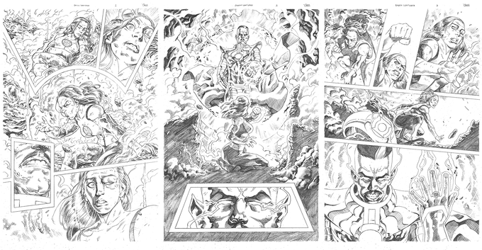 Sequential samples from Marquis Phillips. Just look at these pages!