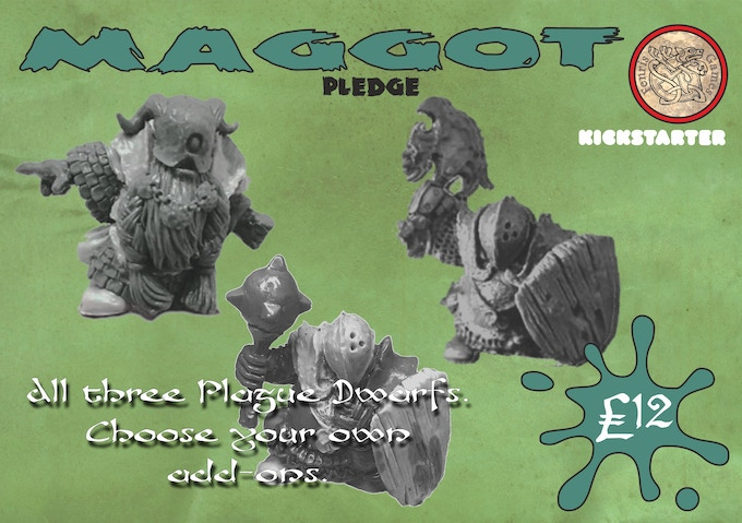 All three Plague Dwarfs. Choose your own add-ons.