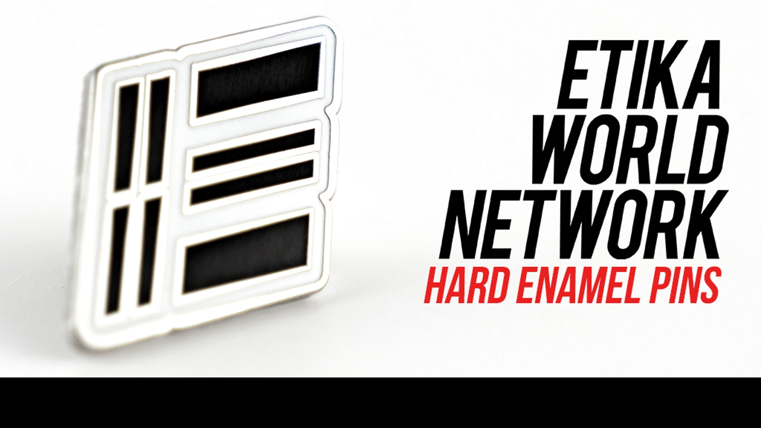 Making Hard Enamel Pins for the Official etikaworldnetwork.com Website.