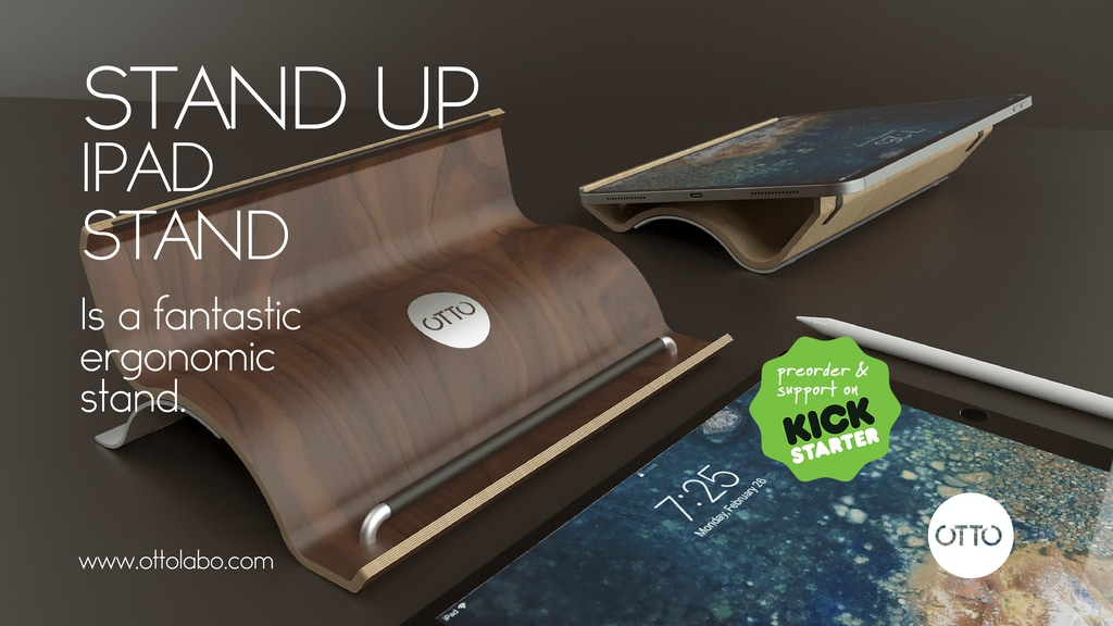STAND UP: iPad Stand project video thumbnail