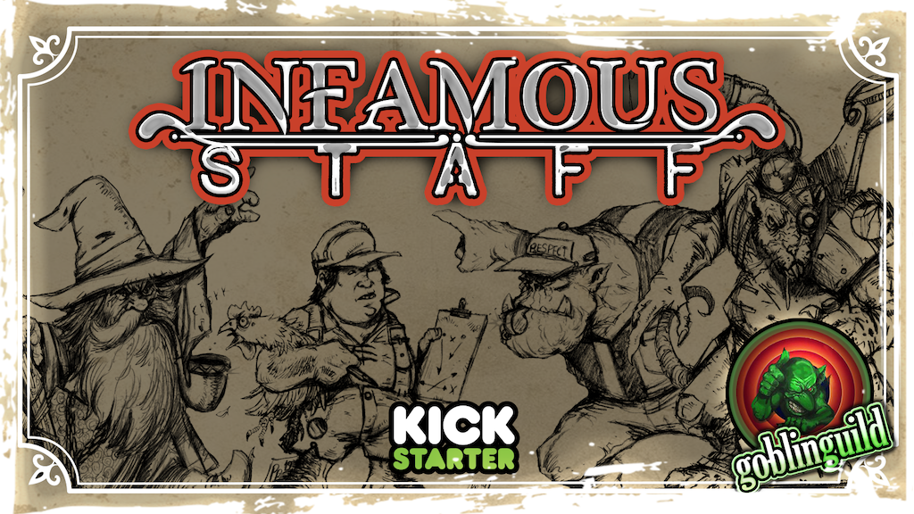 Project image for INFAMOUS STAFF by Goblinguild