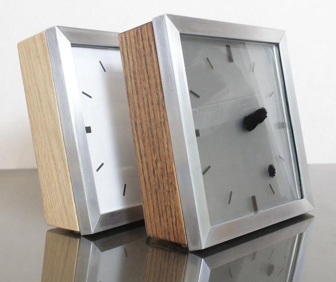 White Clock Face vs Transparent
