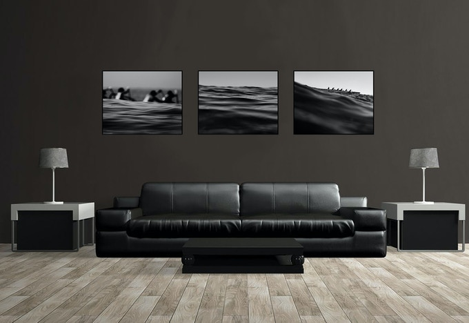 sample of Art Lovers Package #3 Triptych