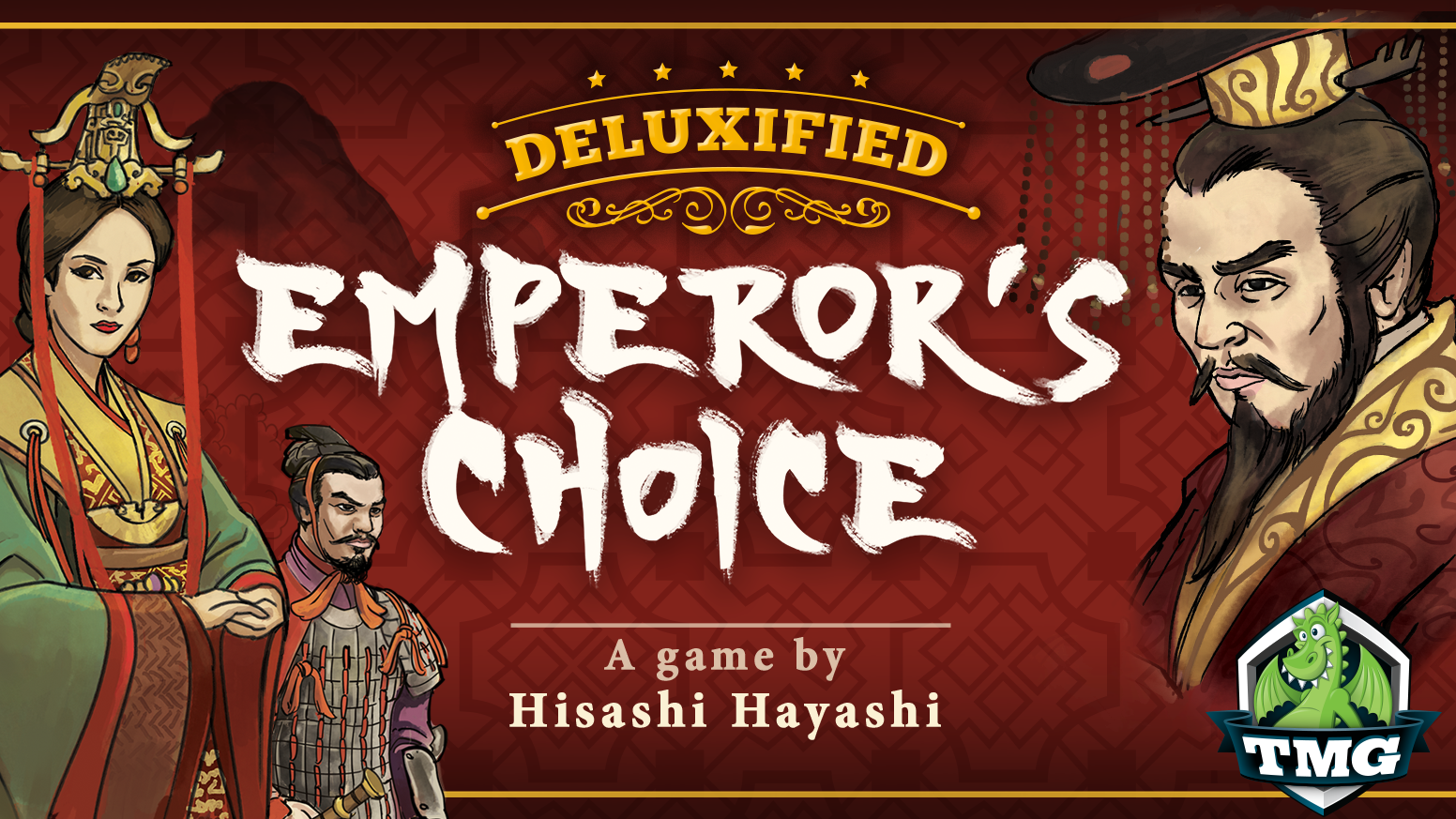 This regal game will indulge your sight and touch as you maneuver your way to into the Emperor's Favor.