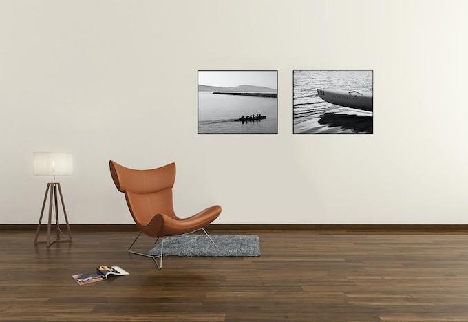 sample of 20x16 inch, framed prints