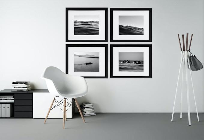sample of 14x11 inch, framed prints