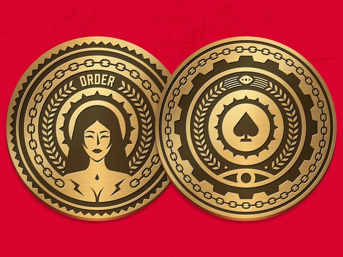 Utopian Coin front and back