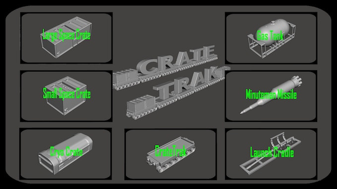 CrateTrak set