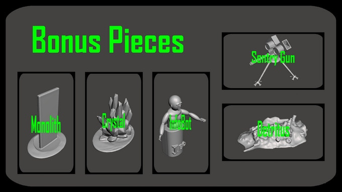 Bonus Pieces set
