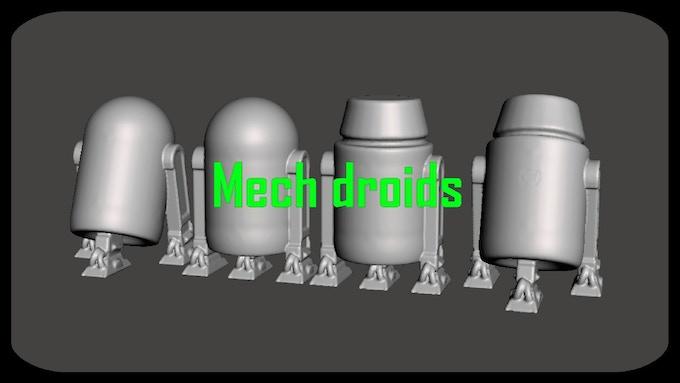 Mech Droids set
