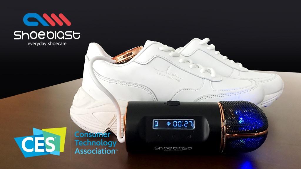 ShoeBlast! The Smart Shoe-Care System! project video thumbnail