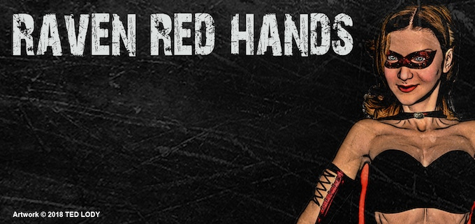 Raven Red Hands