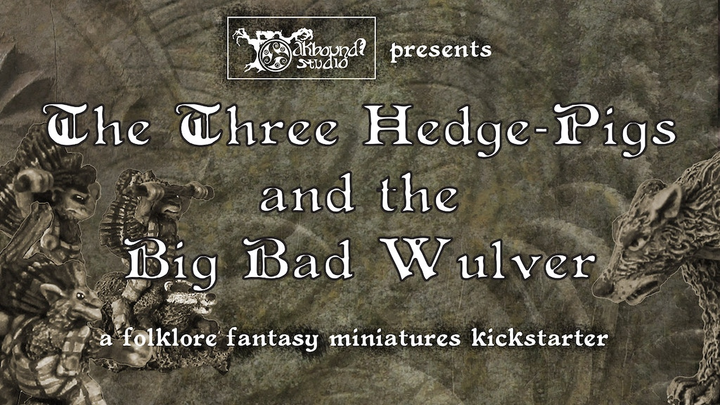 Project image for The Three Hedge-Pigs and the Big Bad Wulver