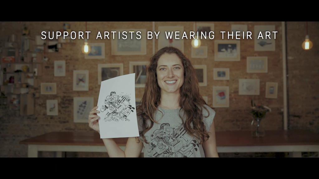 Meera | Art on Ethical Clothing project video thumbnail