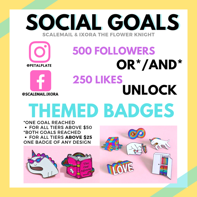 Scalemail & Ixora the Flower Knight: Social Goals