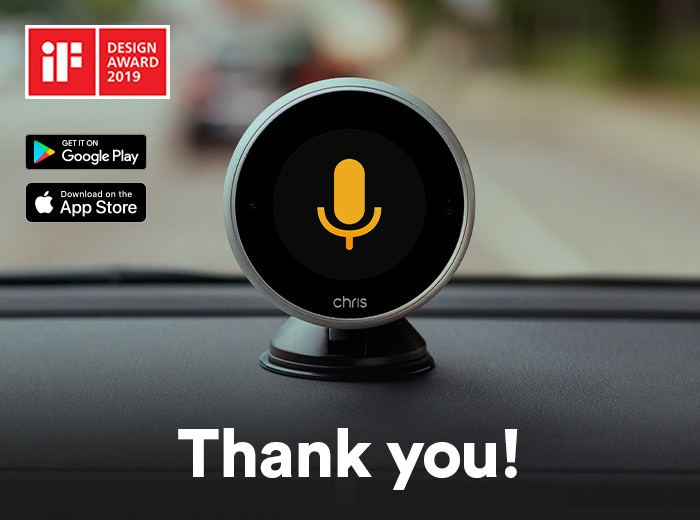 The first digital assistant made for drivers. Safely operate your favorite apps and services by voice and gesture while driving.