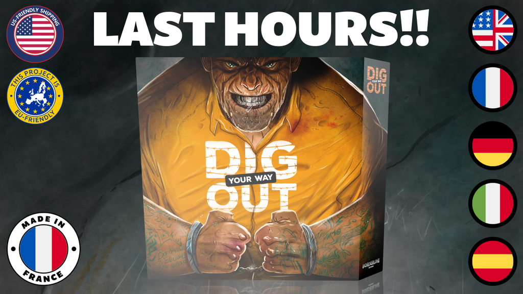 Dig your way Out project video thumbnail