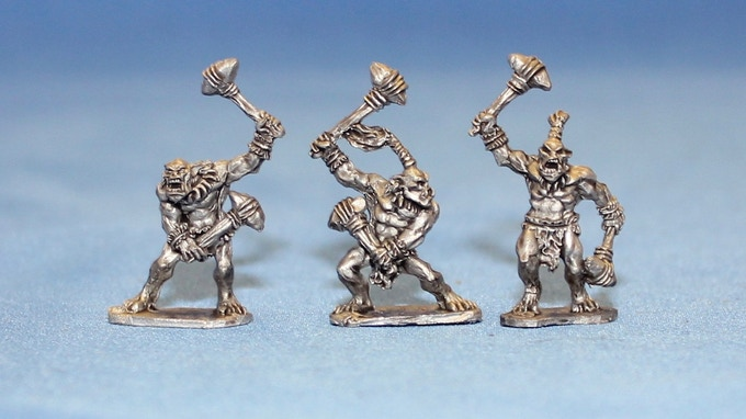 Savage Orc Warriors