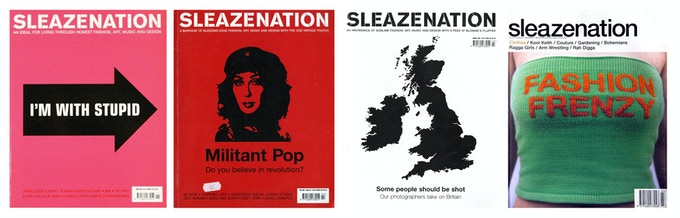 Sleazenation Magazine Covers