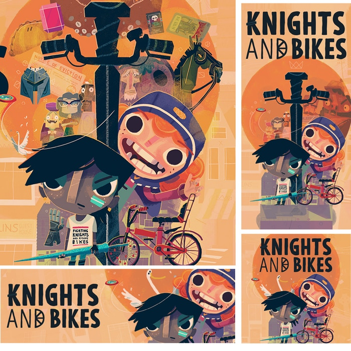Knights and Bikes by Foam Sword — Kickstarter