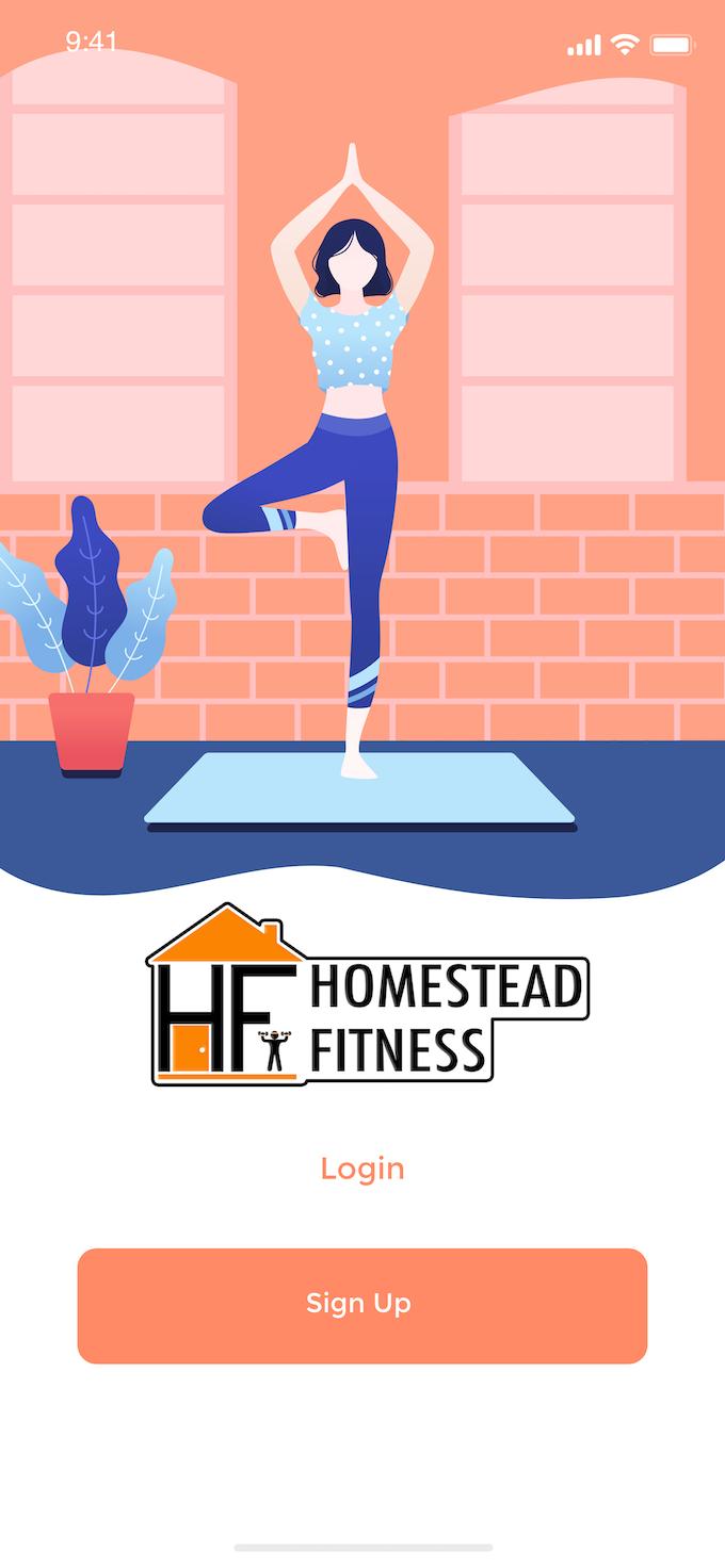 Homestead Fitness App