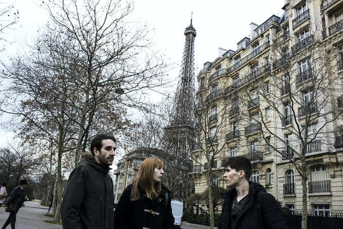 "Click to watch ""FloodHounds in Paris""     Photo: Tom Flynn"