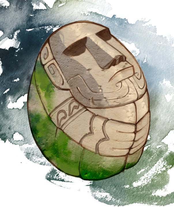 """The Egg"" - our magical item from Christmas on Easter Island"