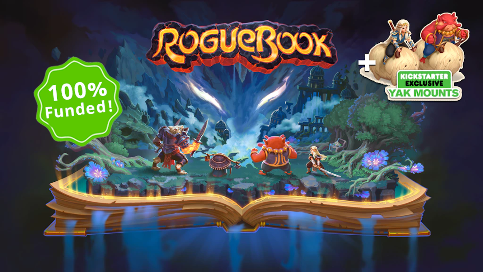 Roguebook aims to become the ultimate roguelike deckbuilder. Based on the legends of the Faeria universe.