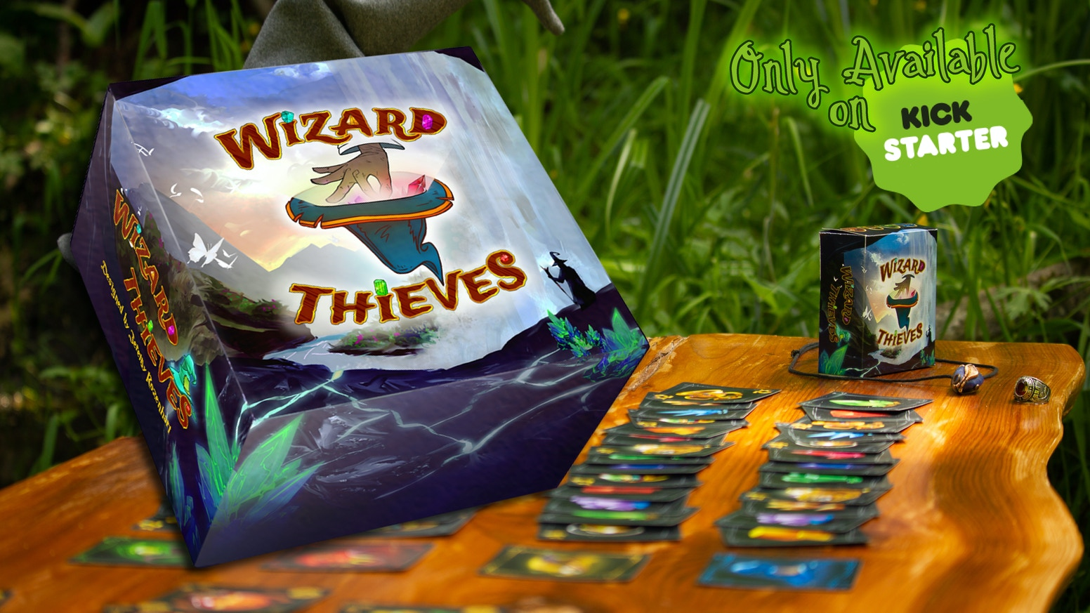 A portable, magical, ultra speedy card game for 2-6 players that sharpens your reflexes in under 15 minutes.