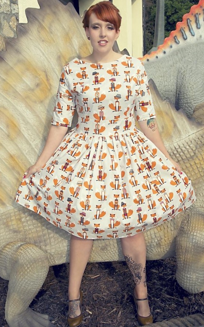 These dresses are made for you - so choose if you want a short or long skirt