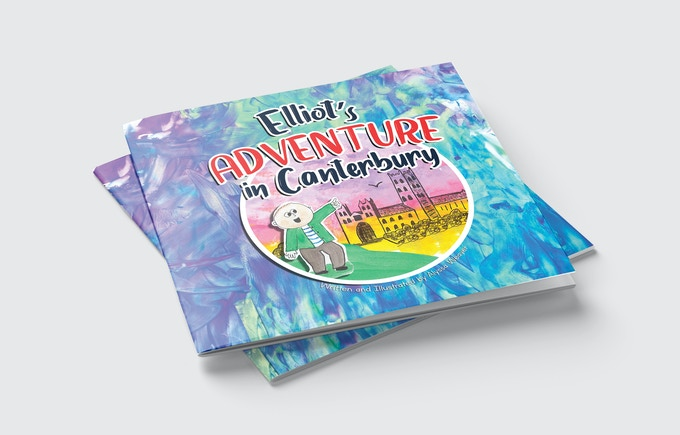 Mock Up of Elliot's Adventure in Canterbury