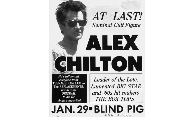 After a self-imposed hiatus from music in the early '80s, Chilton reinvented himself as a solo artist and gradually found a way to accept his role as a cult figure and pioneer of the indie scene.