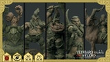 Dwarf Miniatures by Yedharo Models and GT Studio Creations. thumbnail