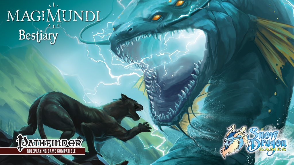 Magimundi Bestiary: New Monsters for 5e or Pathfinder project video thumbnail
