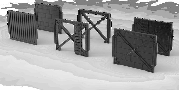 Industrial Wall Variants