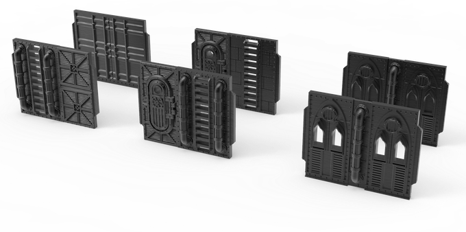 Gothic Wall Variants