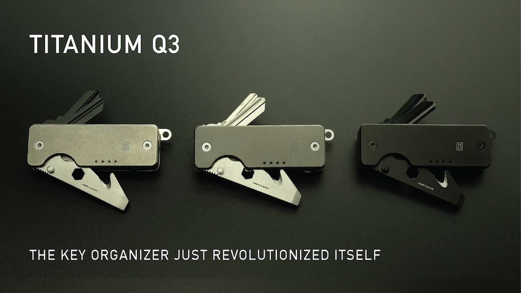 The Q3 - Titanium Key Organizer & Tool for your Everyday project video thumbnail