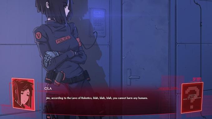 Synergia - A Yuri Cyberpunk Thriller Visual Novel by Top Hat