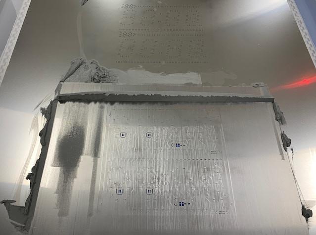 Display board stencil