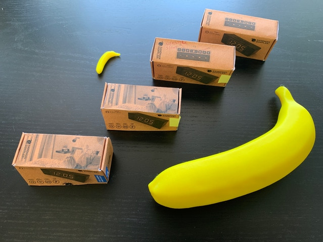 Bananas for scale