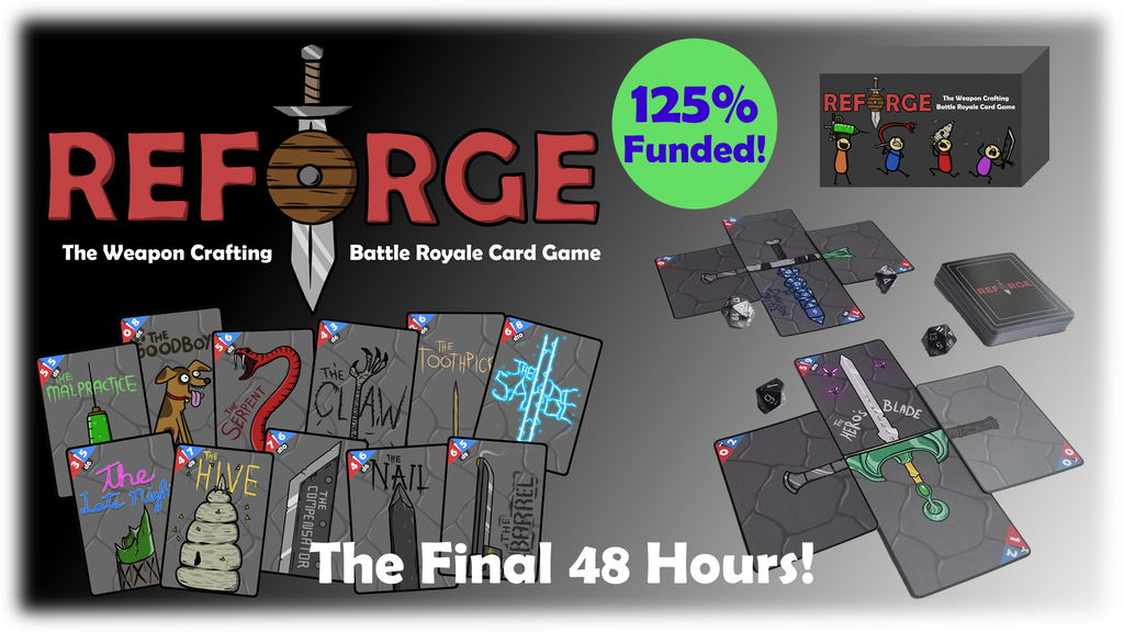 Reforge: The Weapon Crafting Battle Royale Card Game! project video thumbnail
