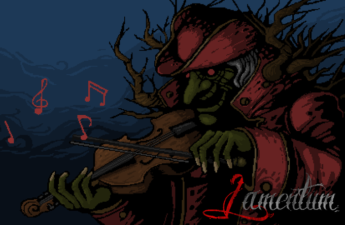 The mad musician.