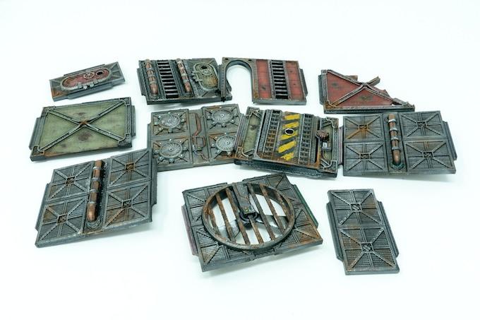 WarLayer 3D Printable Terrain by Andrew Askedall — Kickstarter