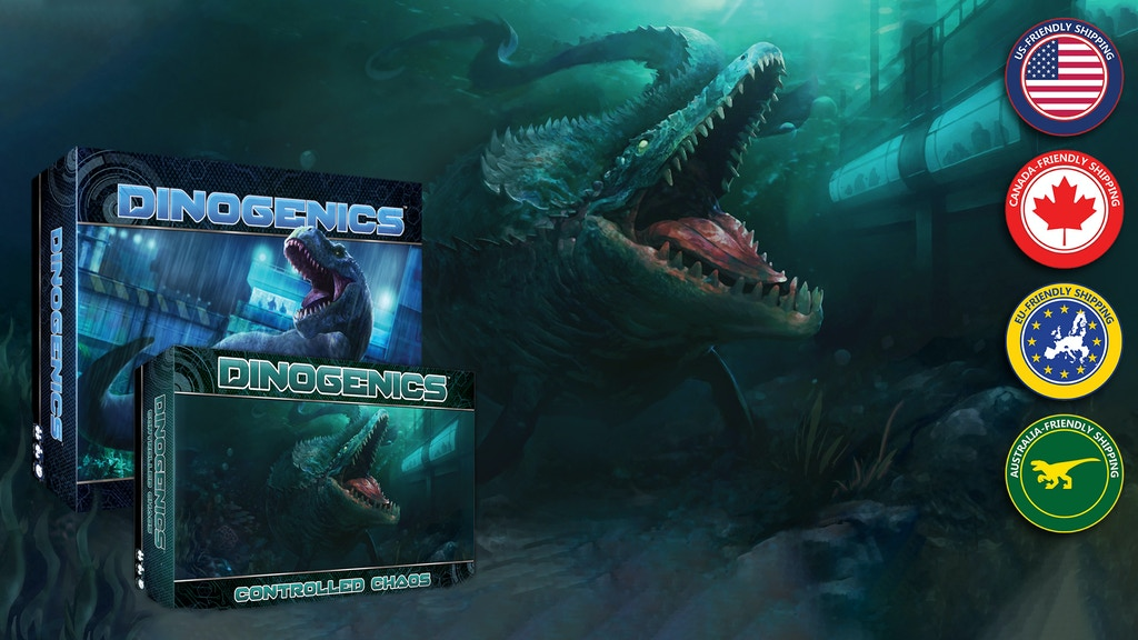 DinoGenics: Controlled Chaos and 2nd Printing project video thumbnail