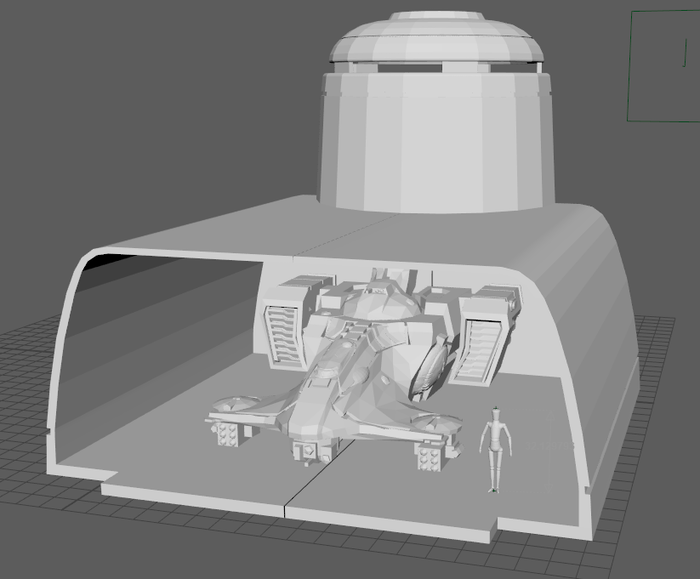 3D Printable Alien Tau-Style Scenery for Tabletop Wargames
