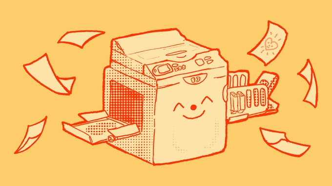 Every single risograph is as cute as this one.