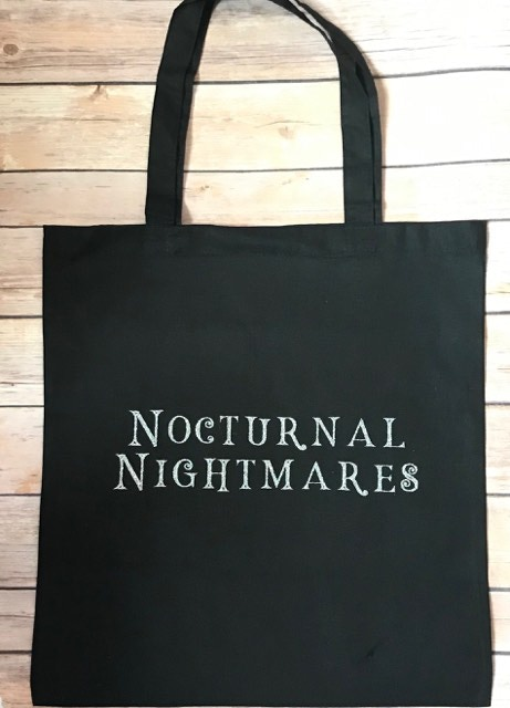Become a Night Terror and receive a Nocturnal Nightmares tote bag and the eBook.